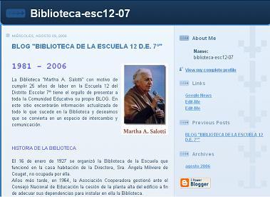 BLOG DE LA BIBLIOTECA ESCOLAR MARTHA SALOTTI